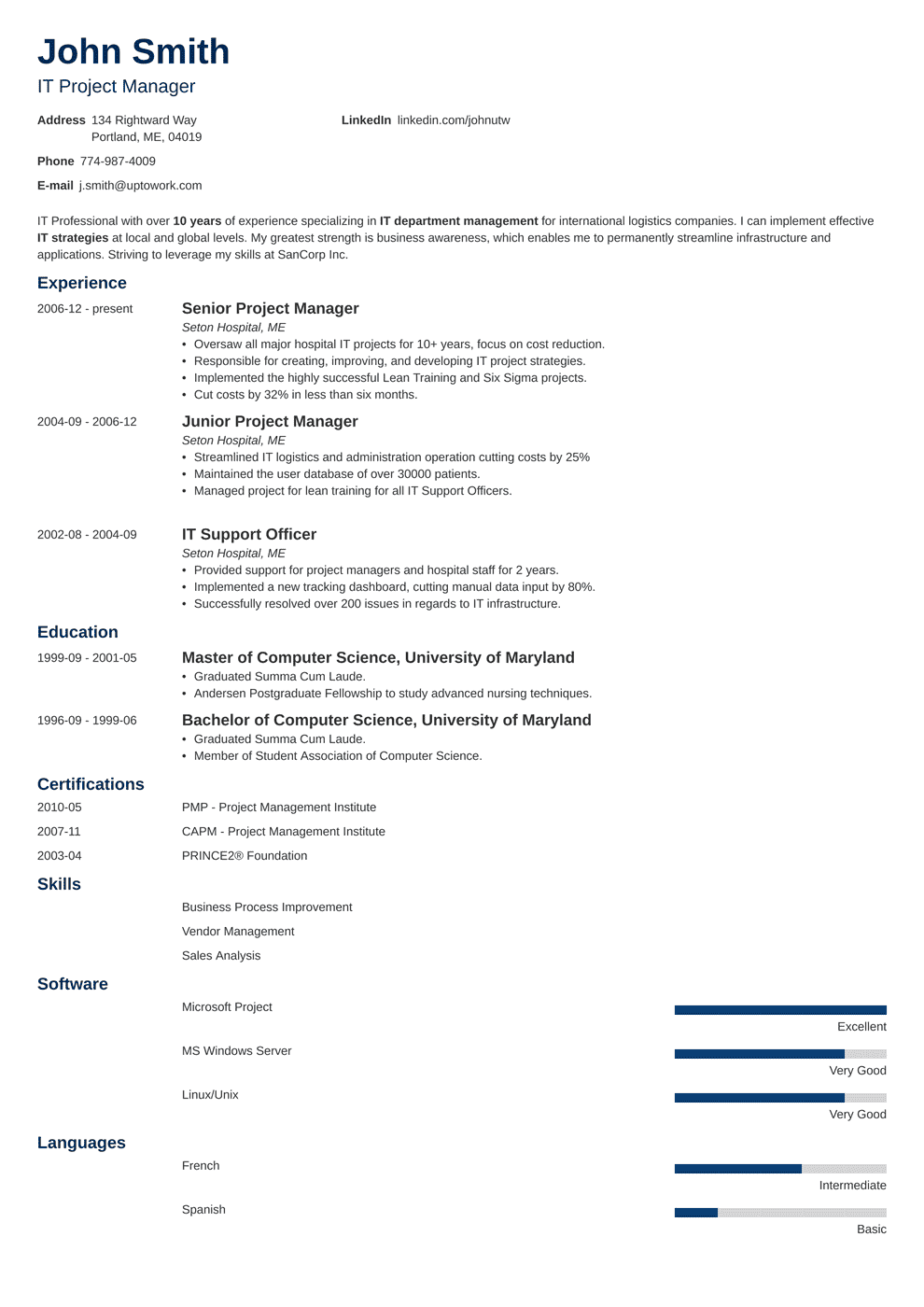 Project Manager Resume Sample & Writing Guide (20+ Best Examples)