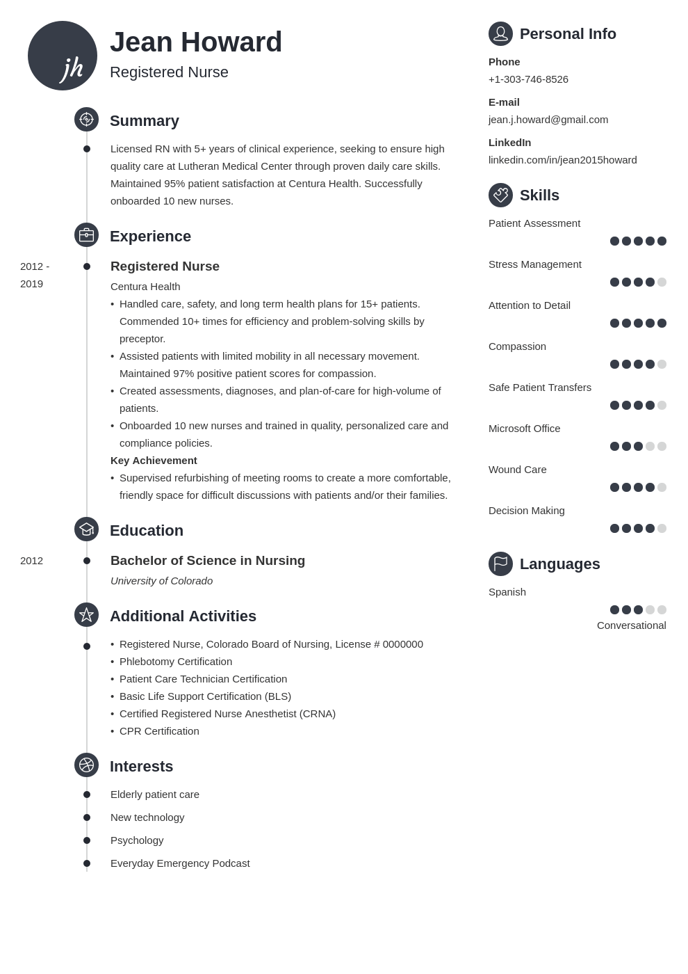 registered nurse resume example template primo