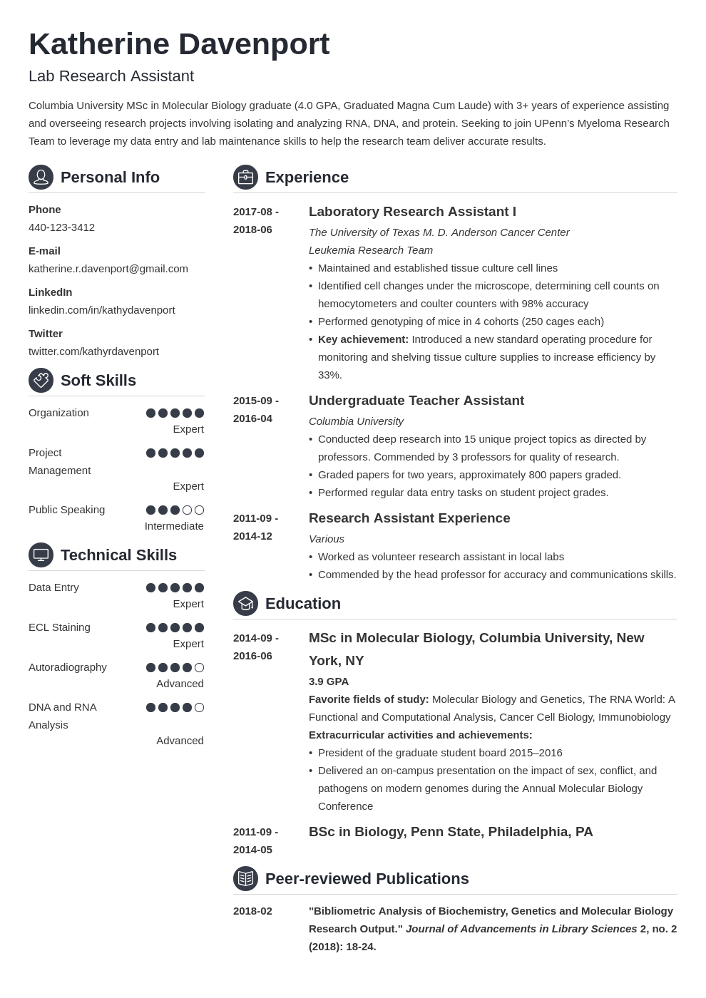 research assistant resume example template crisp