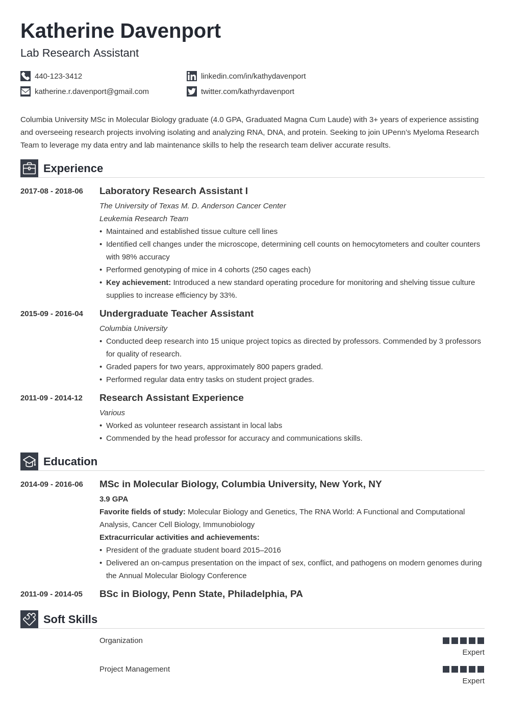 research assistant resume example template iconic