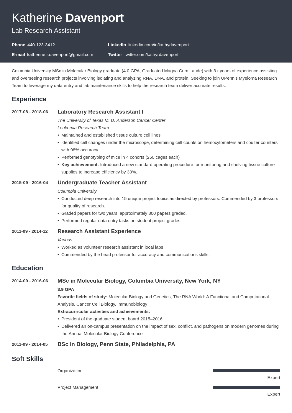 research assistant resume example template influx