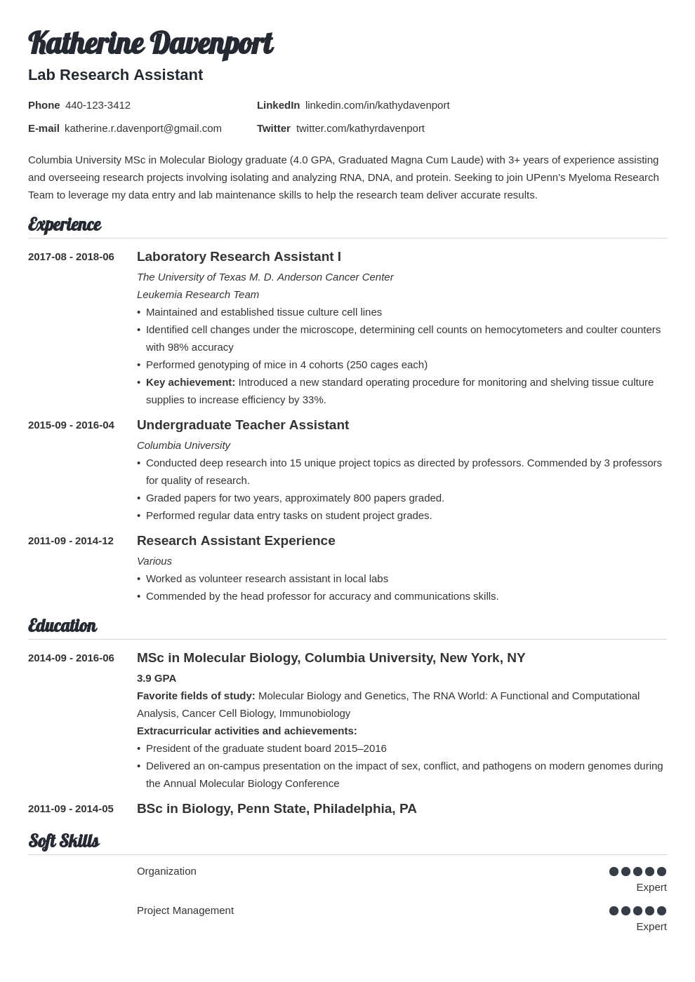 research assistant resume example template valera
