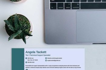 Professional Resume Header Examples & Why They Work [20+ Tips]