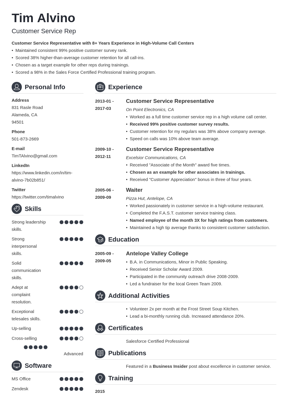 30 resume title examples a good headline for any resume