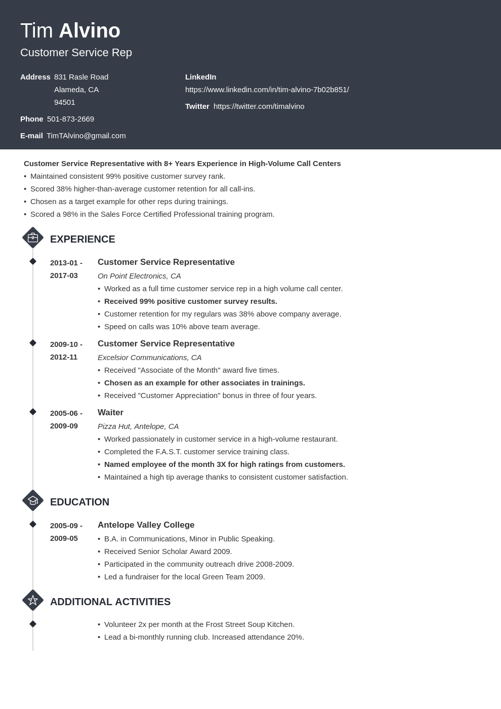 30 Resume Title Examples (a Good Headline for Any Resume)