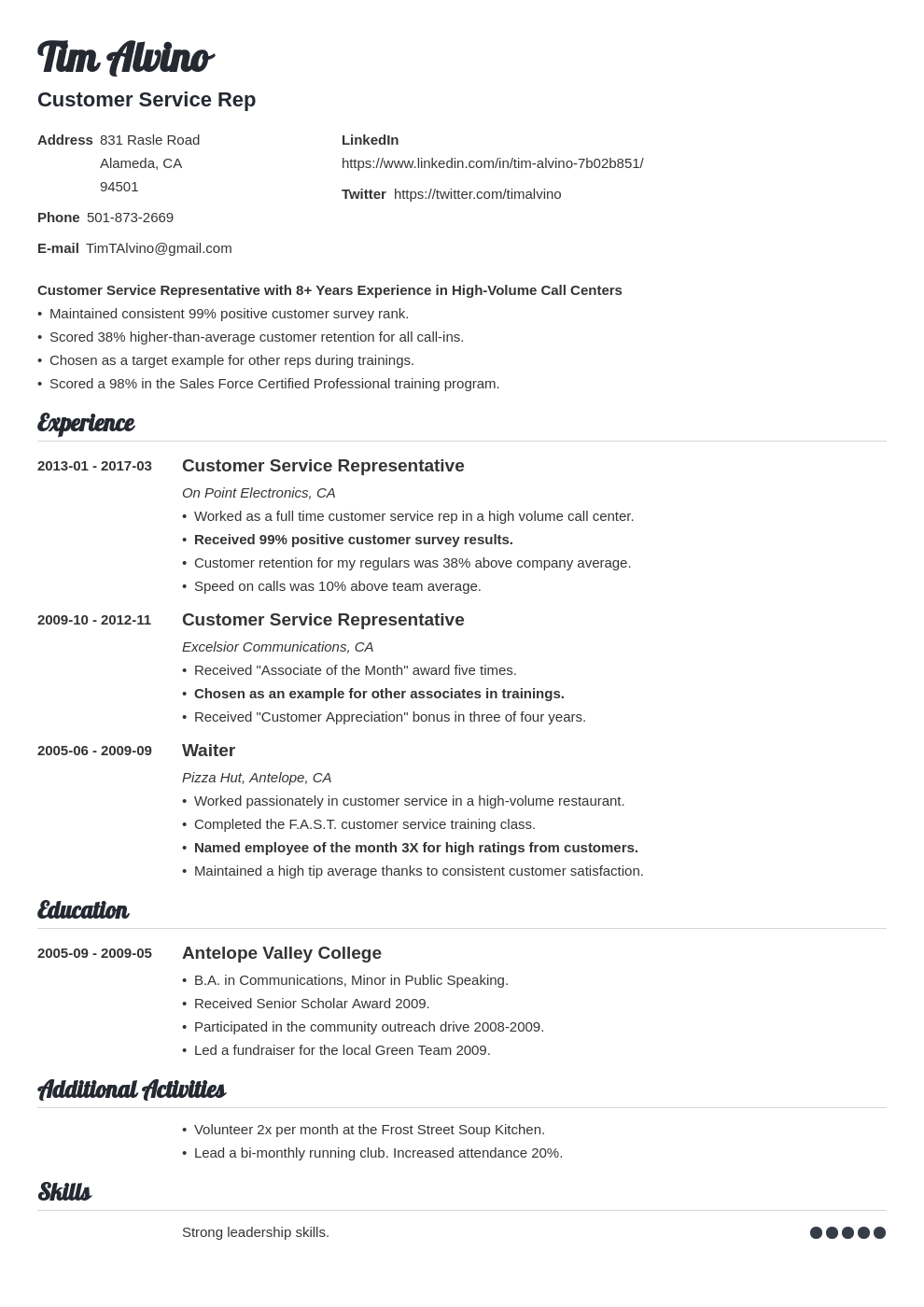 Awesome resume title assistant apartment manager resume sample