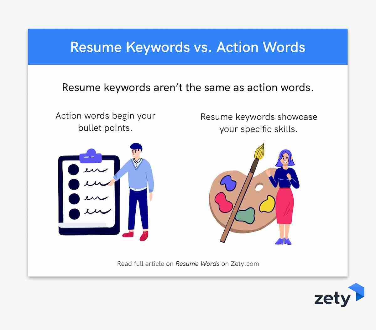 Resume Keywords and Resume Action Words