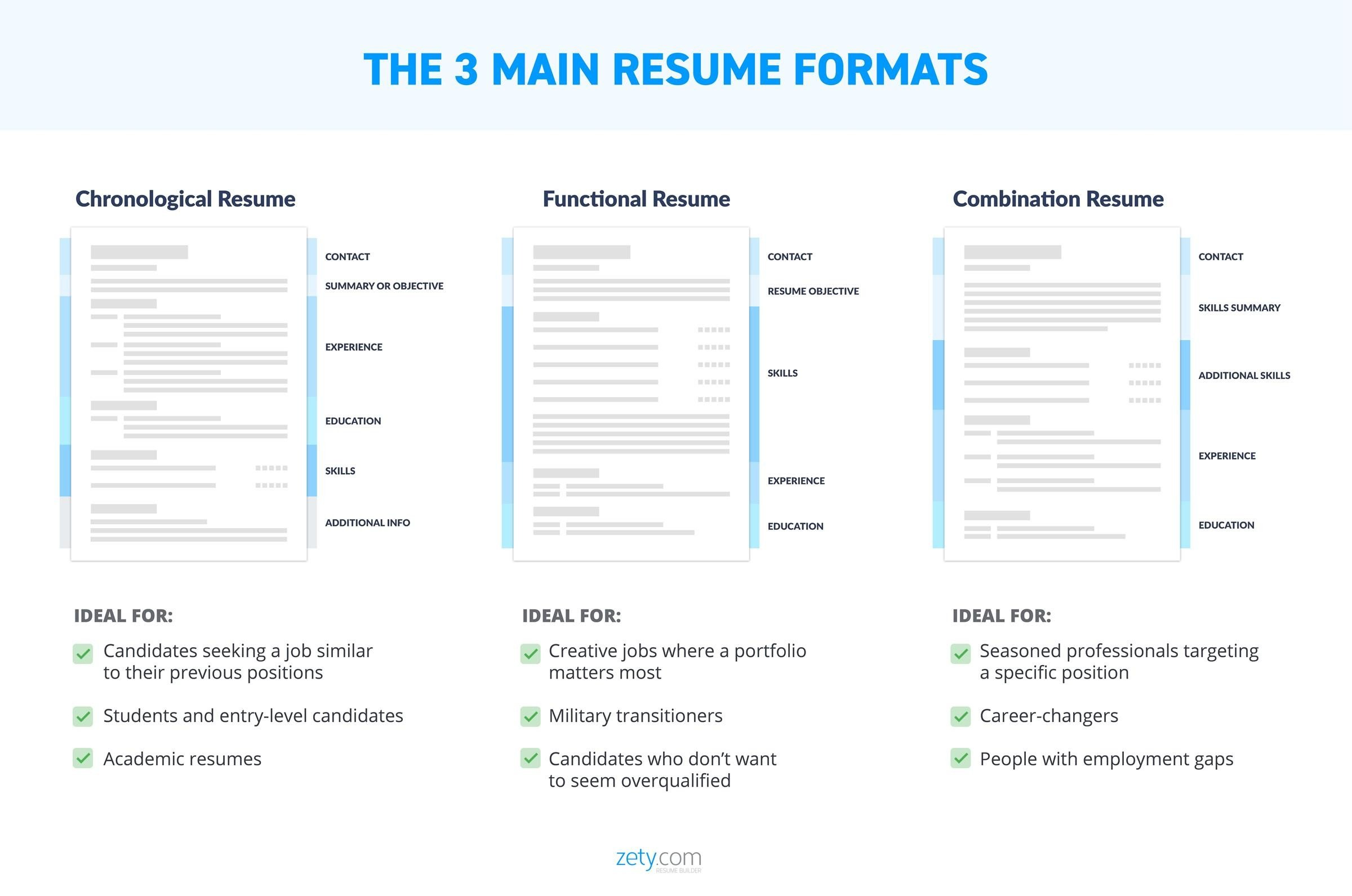 Resume Layout 20 Templates Examples Complete Design Guide