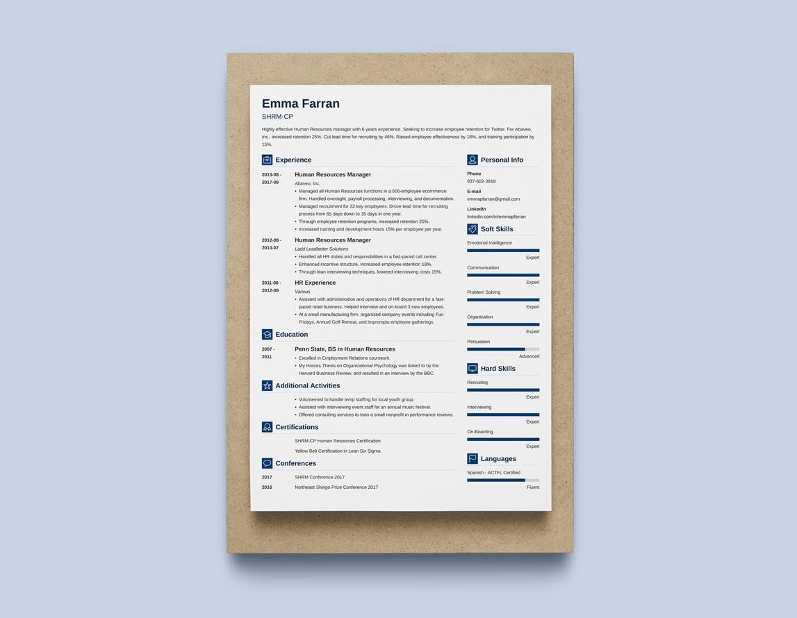 Best Resume Layouts 20 Examples From Idea To Design