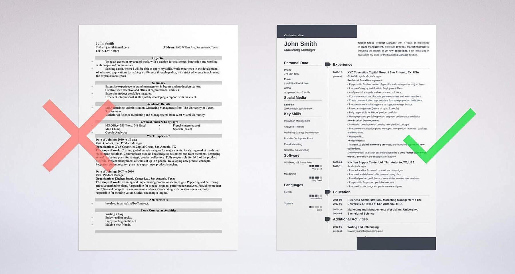 sample resume objective see 20 resume templates and create your resume here - An Example Of Resume