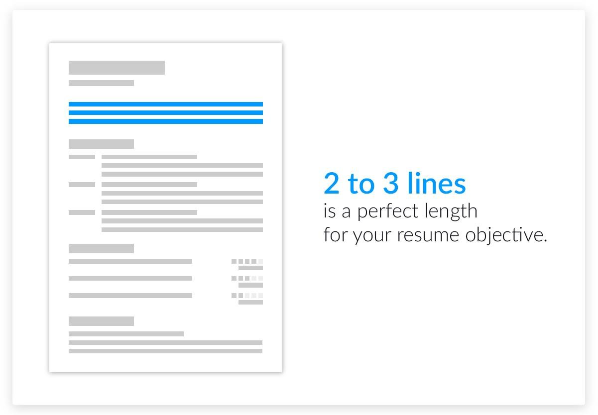 resume objective ideas how long should a resume objective be - Strong Resume Objective