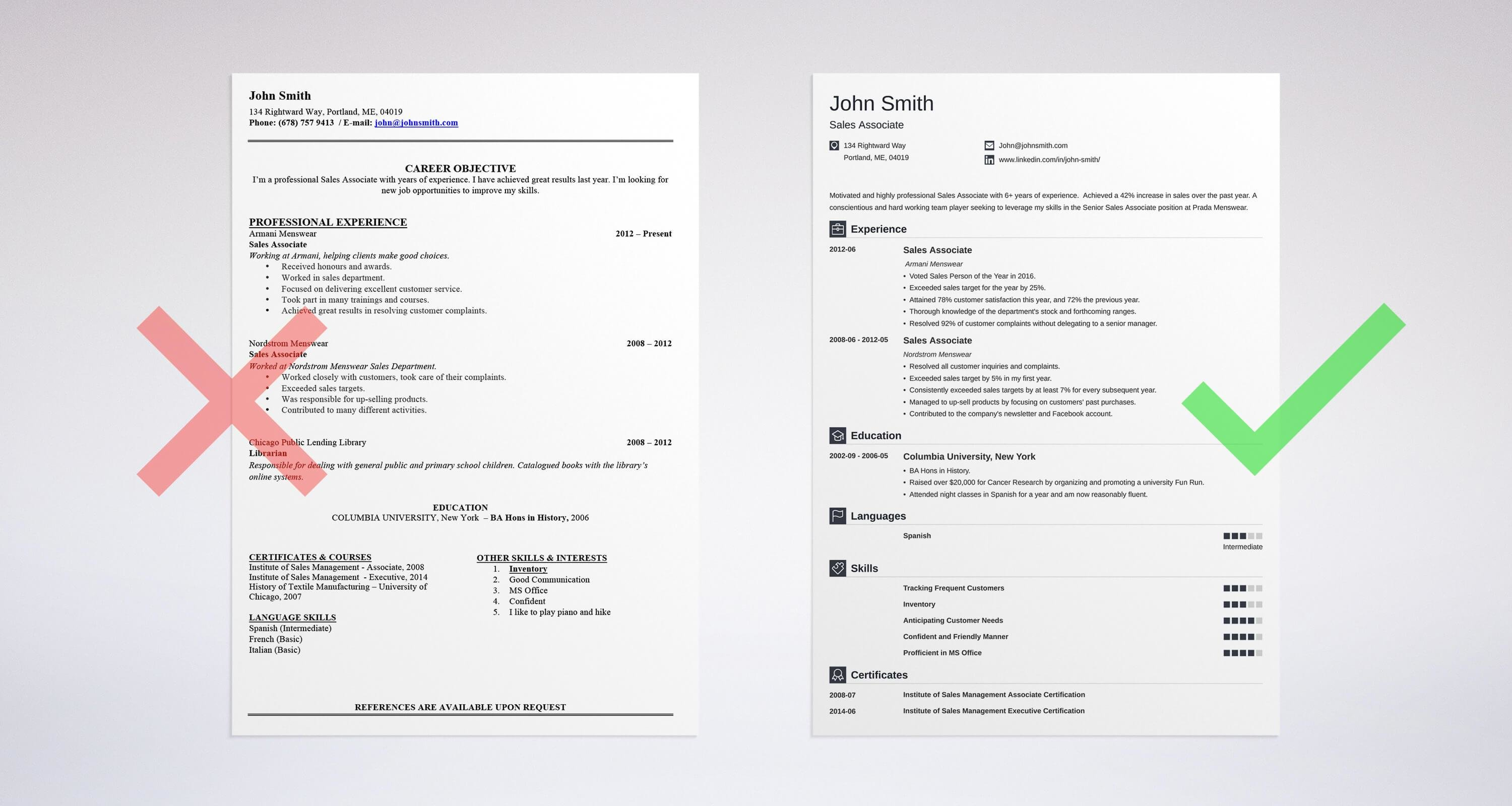 Professional Resume Summary Examples 25 Statements