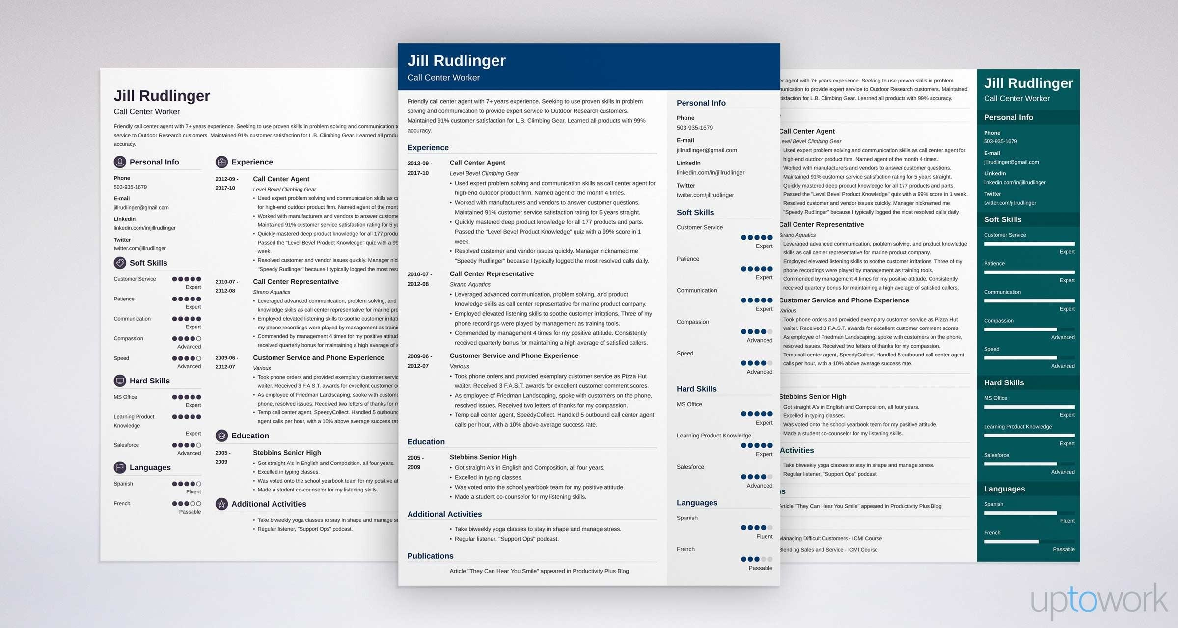 Call Center Resume: Sample and Complete Guide [+20 Examples]
