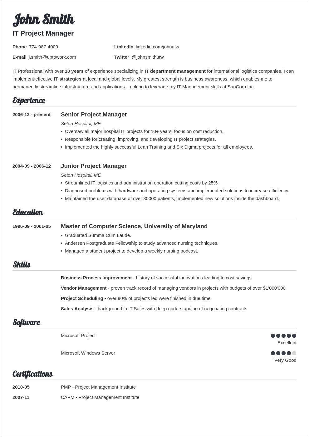 Does Word Have A Resume Template from cdn-images.zety.com