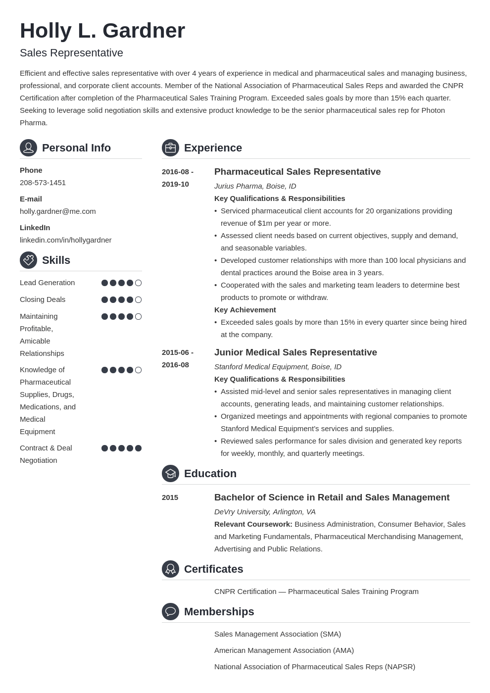 Sales Resume Template from cdn-images.zety.com