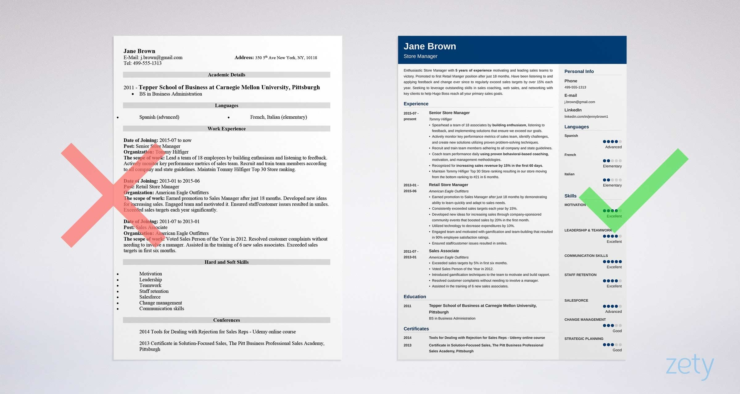 store manager resume examples   job description  u0026 skills