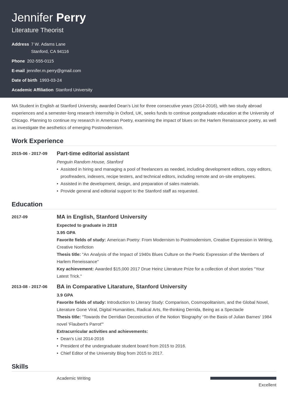 scholarship resume example template influx