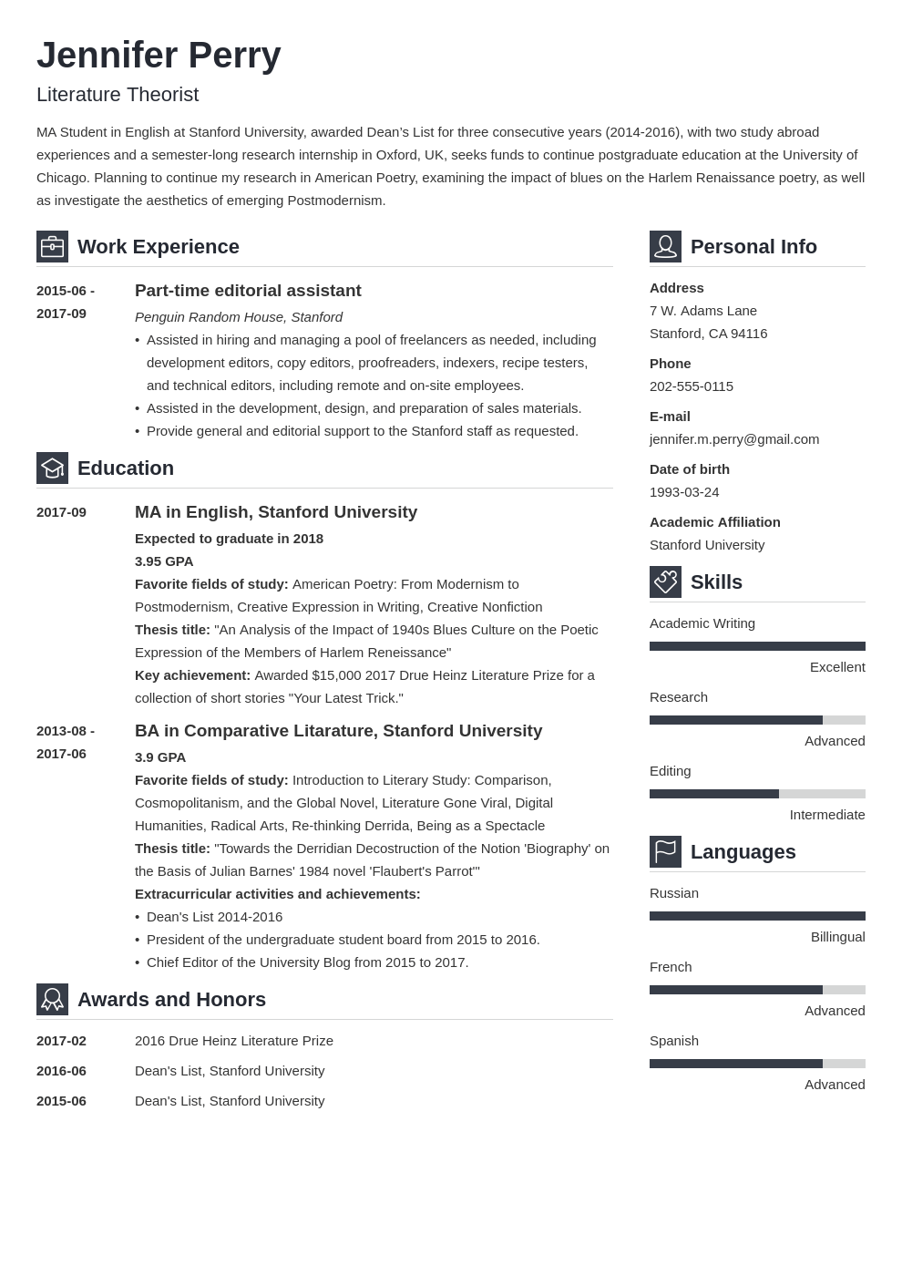 scholarship resume example template vibes