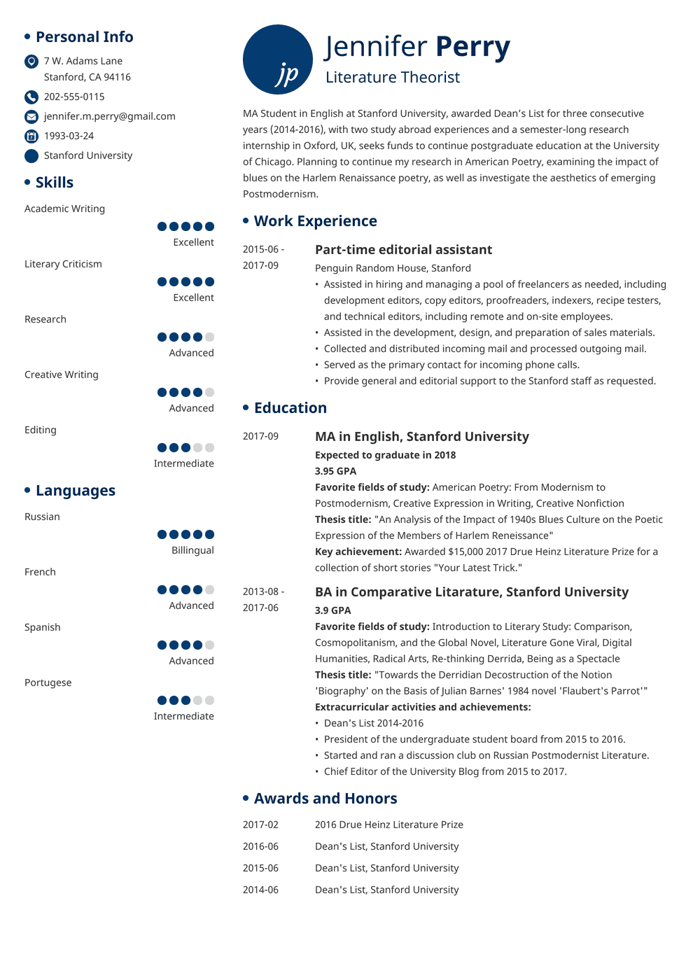 scholarship resume template complete guide 20 examples