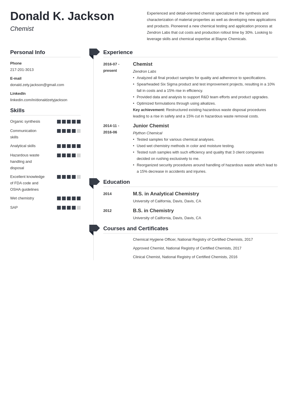 science resume example template muse