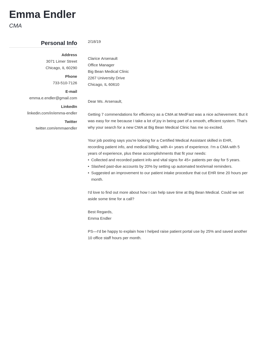 5 Short Cover Letter Examples For Quick Application