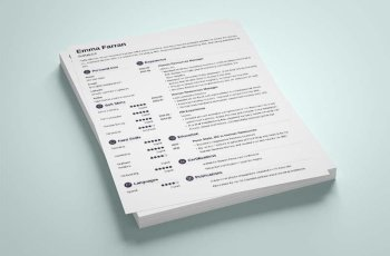 simple resume templates 15 examples to download use