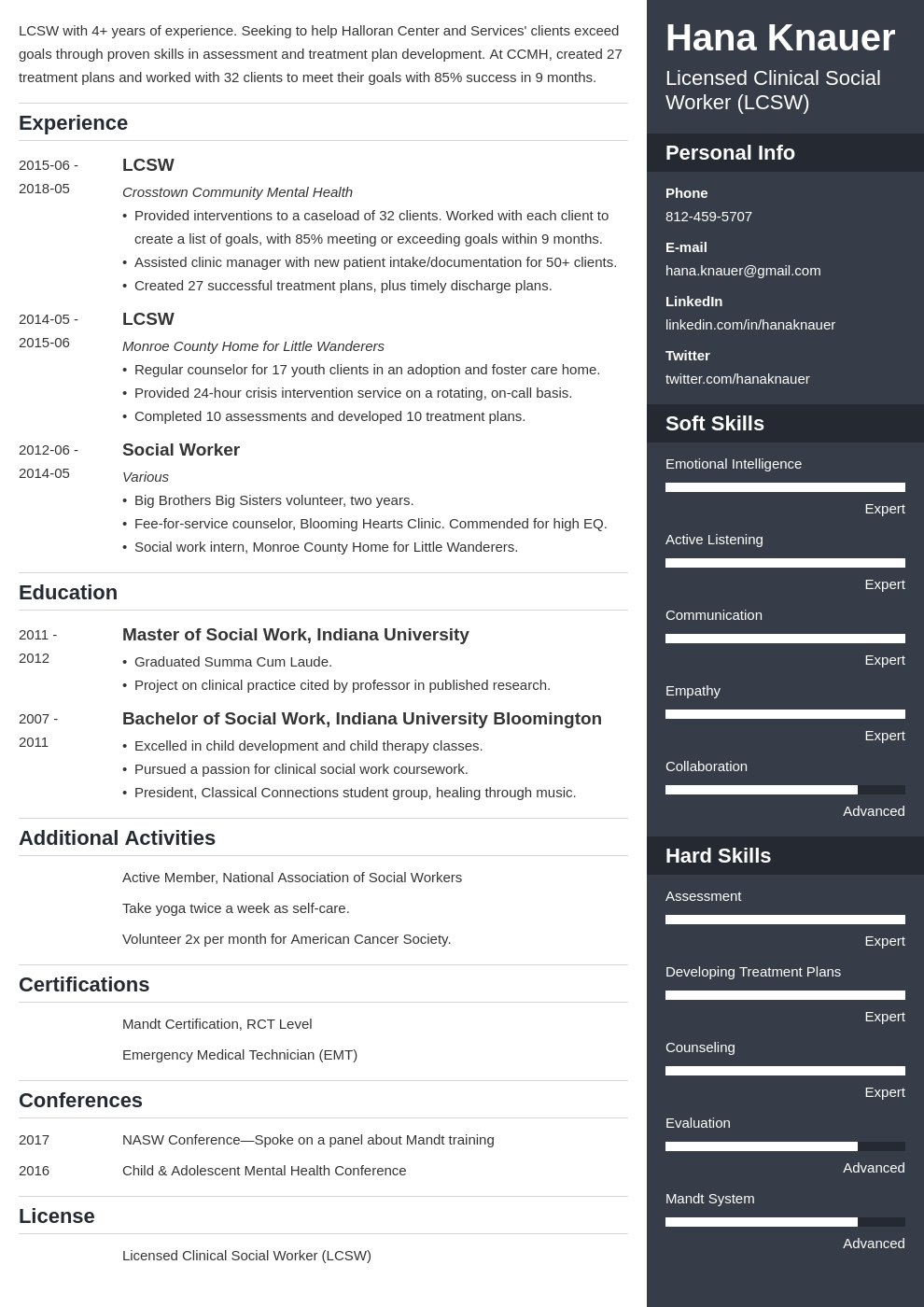 social work resume example template enfold