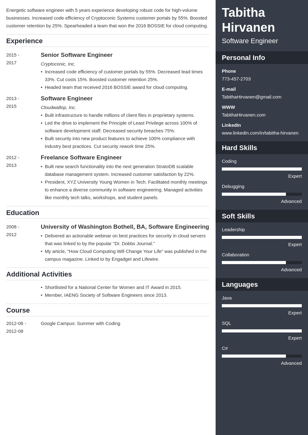 Software Engineer Cv Template from cdn-images.zety.com