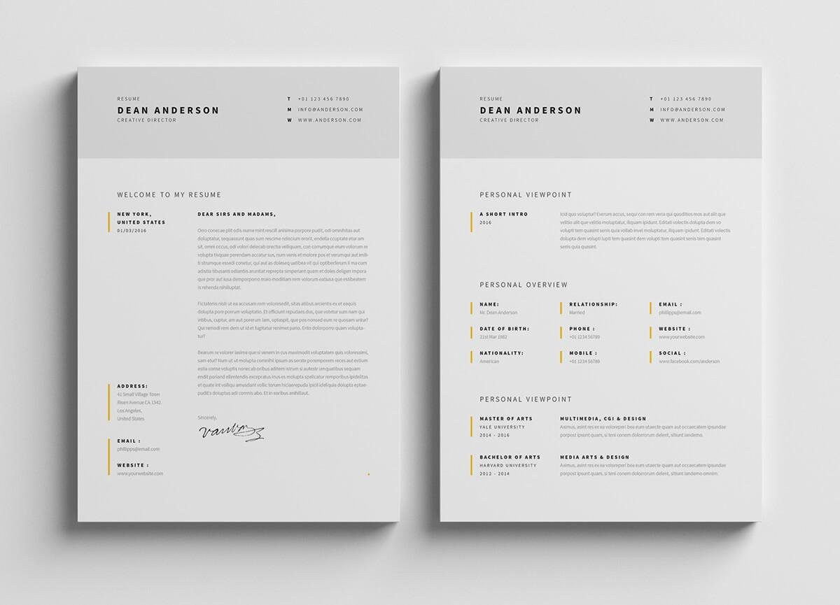 15 Student Resume Cv Templates To Download Now