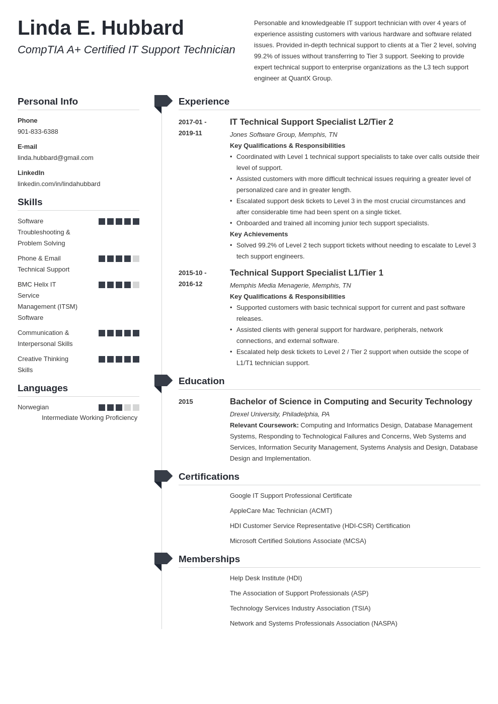technical support resume example template muse