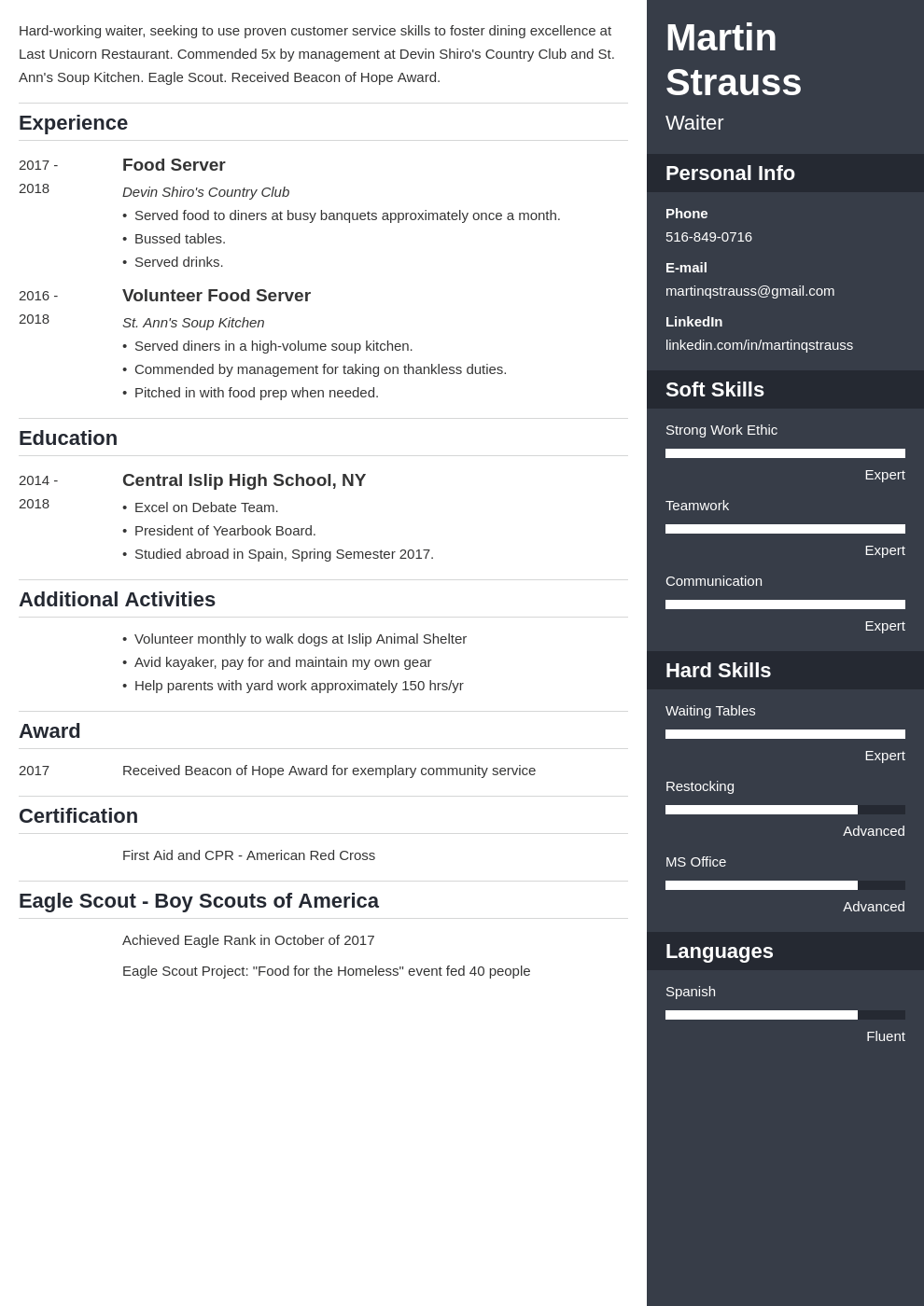 teen resume example template enfold