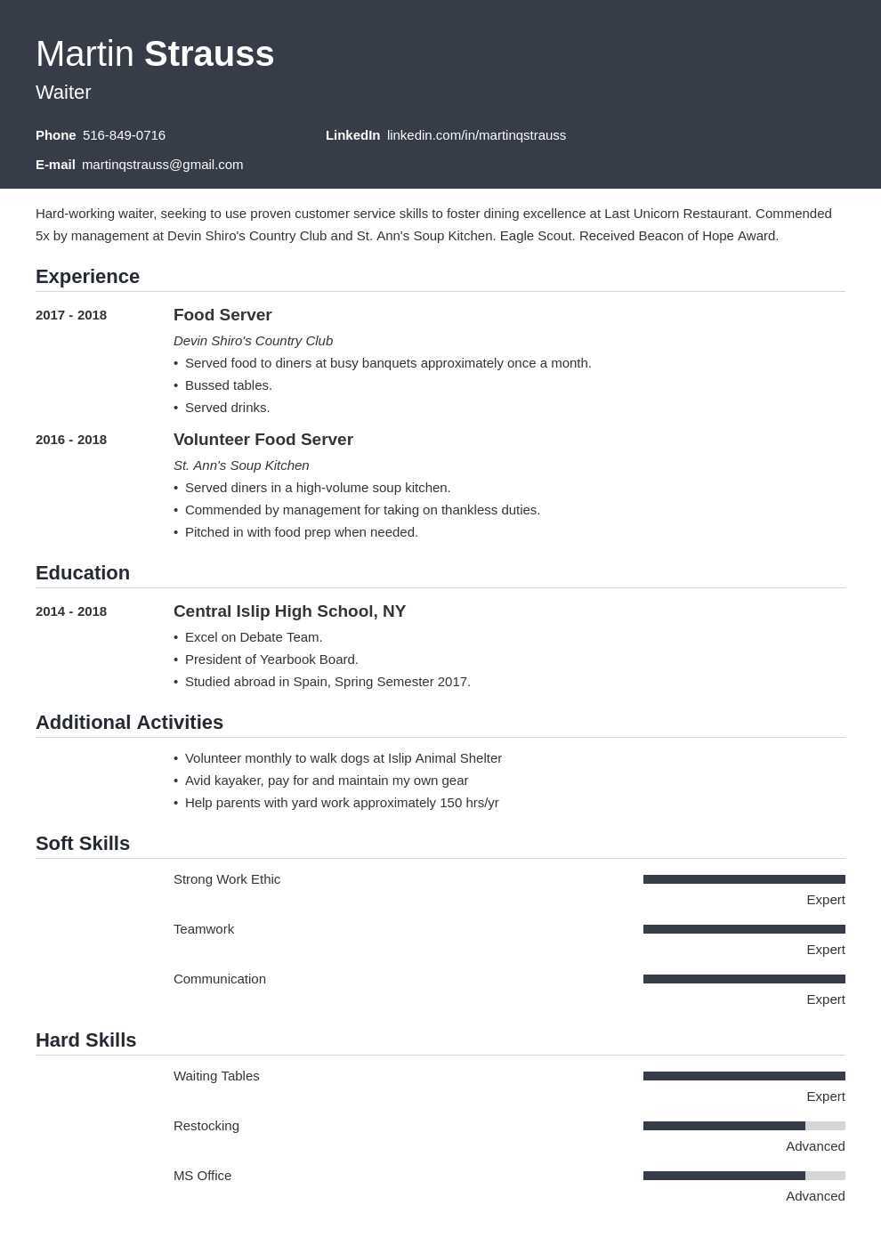 teen resume example template influx