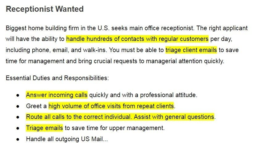 job offer example