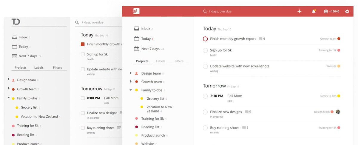 todoist preview
