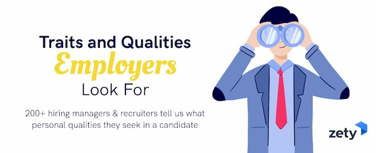 traits and qualities employers look for