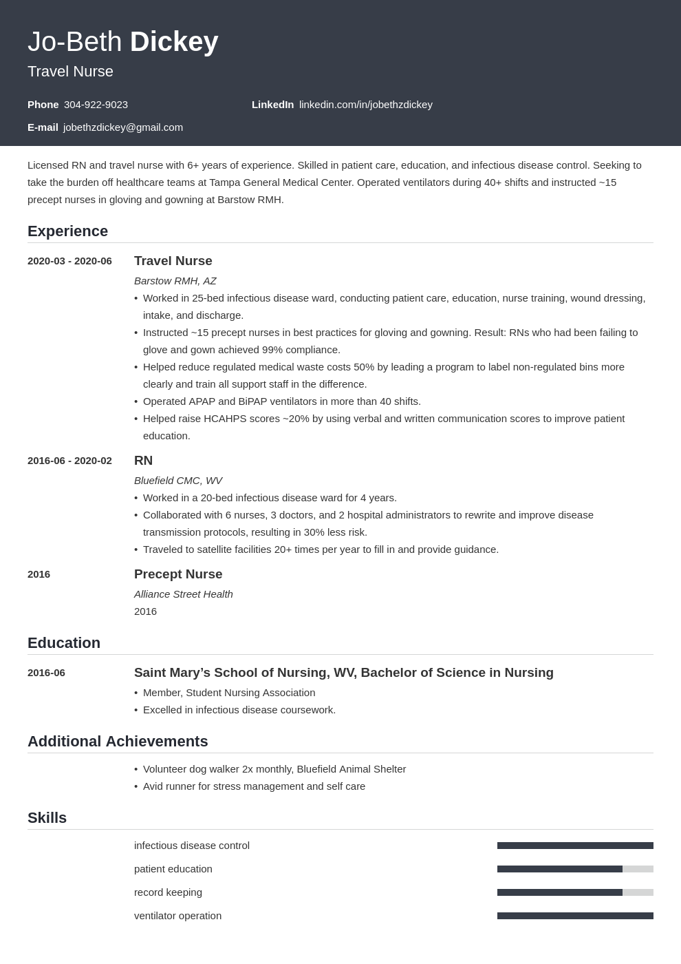 travel nurse resume examples and guide 10 tips