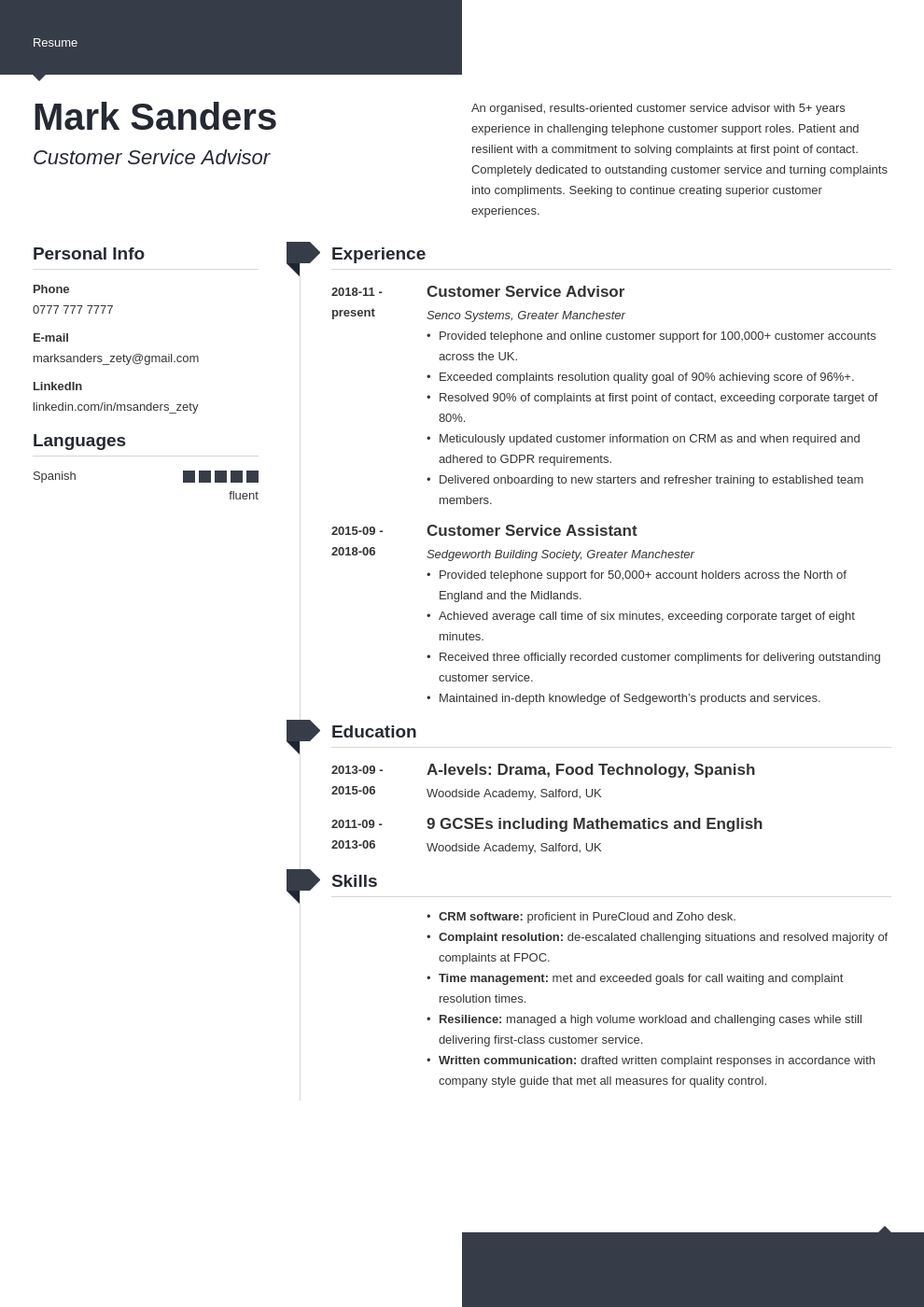 uk customer service cv example template modern