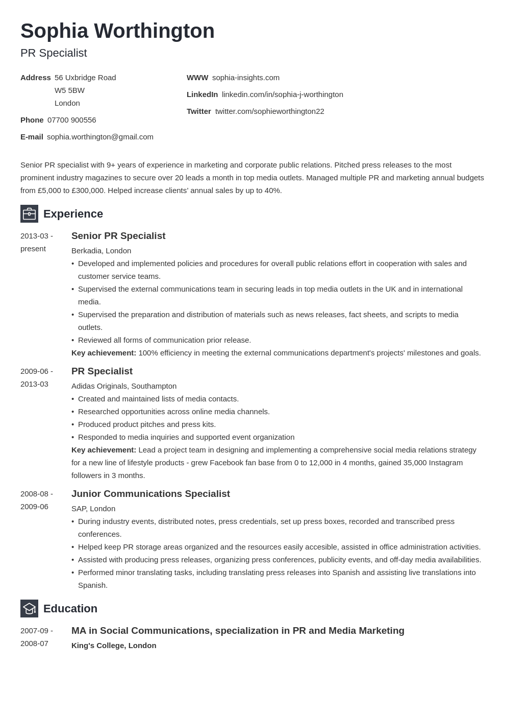 uk skills for a cv template newcast