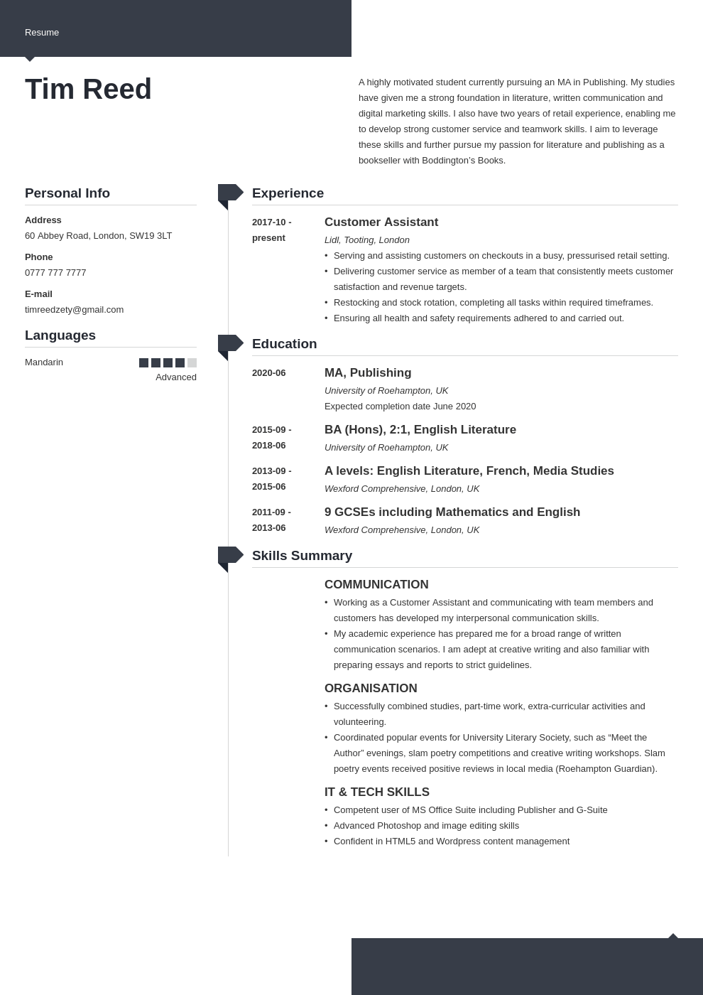 uk student cv example template modern