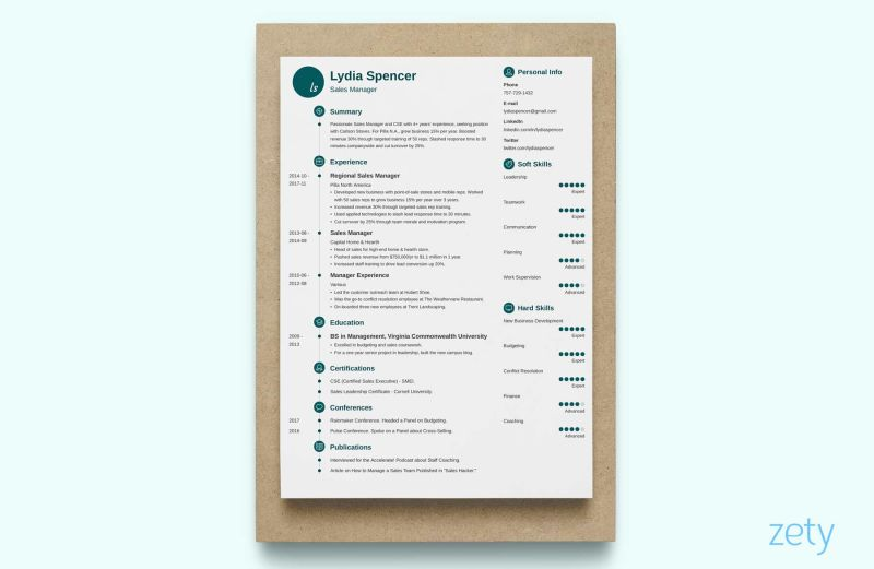 unique resume with a timeline - Unique Resume Templates