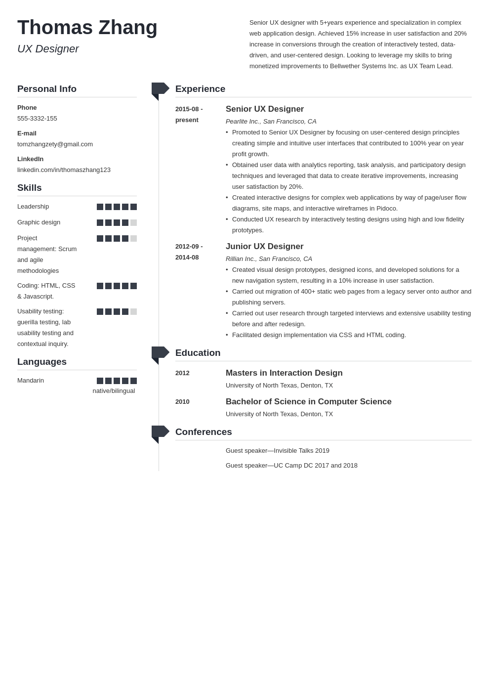 ux designer resume example template muse