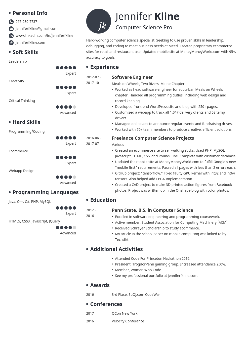 how to list volunteer work experience on a resume example