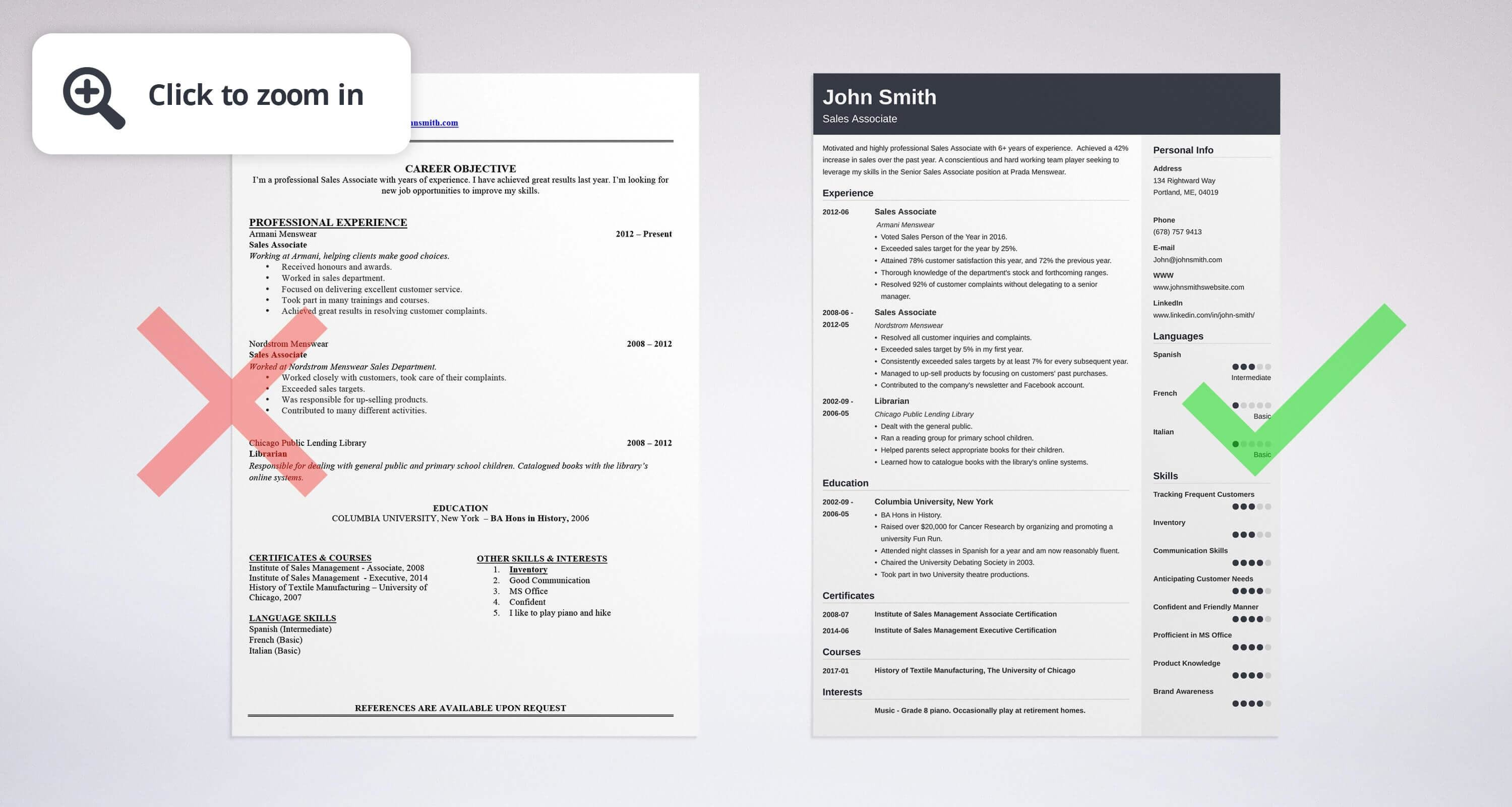 Good Uptowork Throughout Skills Section Of Resume