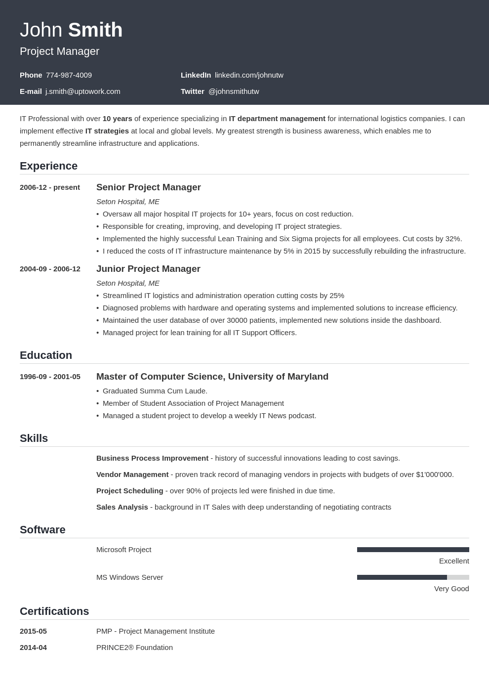 us recommended professional resume template influx - Template For A Resume
