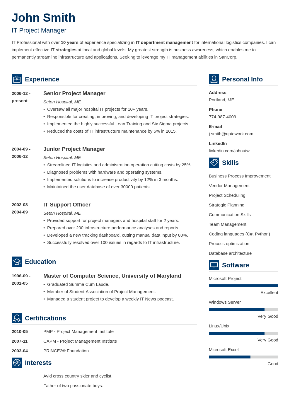 professional resume template vibes - Resume Templated